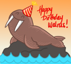 Happy Birthday Walrus