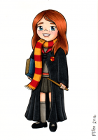 Hogwarts Portrait Commission 1