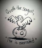 Inktober - The Seagull