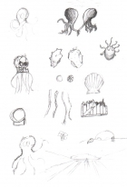 Loftopus Sketches