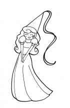 Princess (outline)