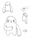 Sloth Toy Sketches